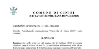 Terrasini, lite davanti a una discoteca: morto il 21enne Paolo La Rosa