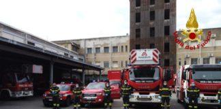 I vigili del fuoco di Messina omaggiano l'ospedale Papardo