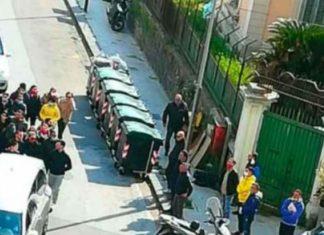 funerali fratello del boss